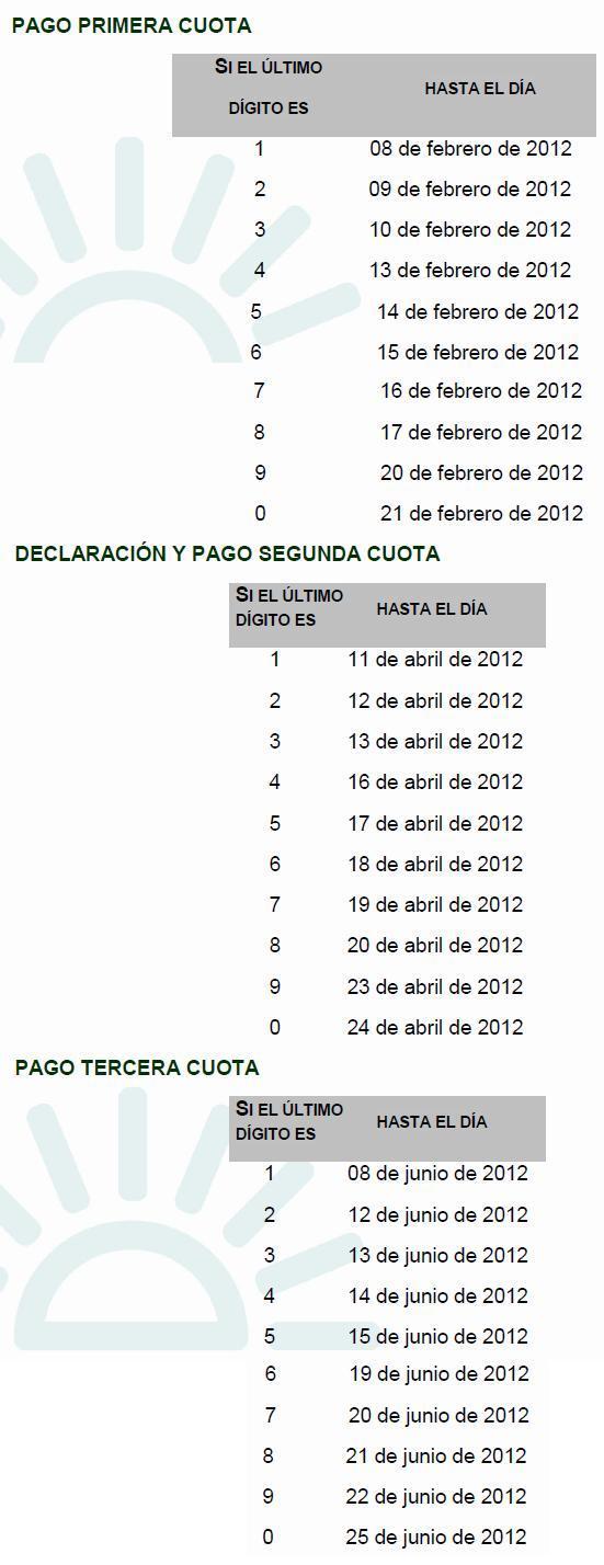 renta colombia GC